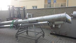 Screw blancher ŠD400 6 adjusted