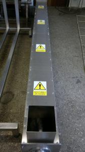 Screw conveyor channel