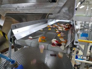 Wire conveyor for jellies