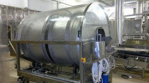 Oil drum for Nestlé