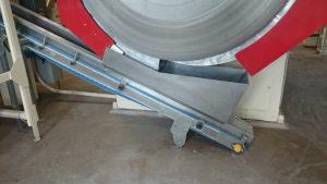 Belt conveyor using a Soliflex belt